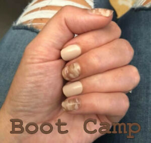 Color Street BOOT CAMP (Brown Beige Camo Support Troops Military Veterans)