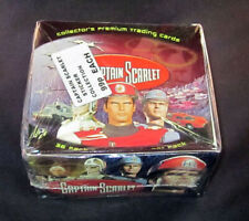 2001 Cards Inc. Captain Scarlet Box 36 Packs * Sealed
