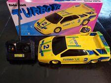 Probada Buenos Vintage Turbo XR Radio Shack Radiocontrolado Coche con Mando