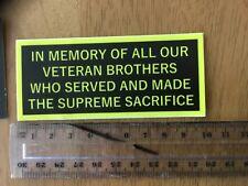 Bumper sticker world war 2 world war 1 veteran Korean wAr Timor army Vietnam