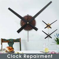 Grand Horloge Murale Silencieux Mouvement Quartz Mécanisme De Remplacement Outil