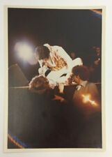 ELVIS PRESLEY ORIGINAL VINTAGE CANDID KODAK PHOTO ON STAGE STAMPED TCB PHOTOCLUB
