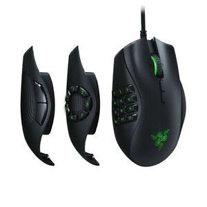 Razer Naga Trinity MOBA/MMO Gaming Mouse 16000 DPI, 5G Optical Sensor