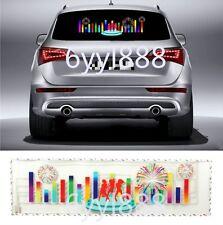 90x25cm Flash Music Rhyt1hm LED Light Lamp Sound Activated Equalizer Car Sticker