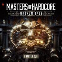 MASTERS OF HARDCORE XLII-MAGNUM OPUS - VARIOUS  3 CD NEU