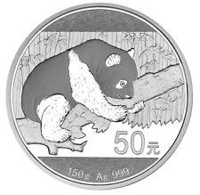 50 Yuan 150 Gramm Silber Proof Panda China 2016 silver