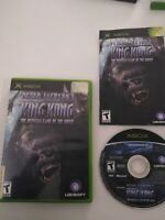 Peter Jackson's King Kong (Microsoft Xbox, 2005) Complete with Manual Tested