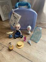"Disney Store - Frozen Elsa Animator Collection - 5"" mini doll playset - Complete"
