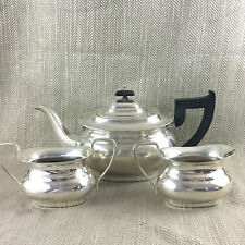 VINTAGE servizio da Tè Teiera Viners Piatto d'Argento Placcato Bricco Caraffa Sugar Bowl vaso
