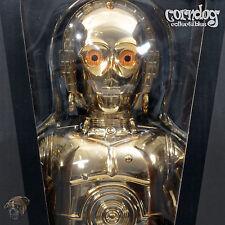 Star Wars Medicom 400% Kubrick C-3Po Droid Gold Figure Tomy Limited Edition New