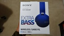 Brand New Sony MDR-XB650BT/L BLUE Extra Bass Bluetooth Wireless Headphones
