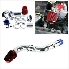 3in Car Racing Direct Cold Air Filter Injection Intake System Kit Red Washable