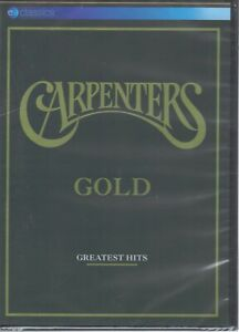 The CARPENTERS Gold DVD - Greatest Hits NEW & SEALED Free Post