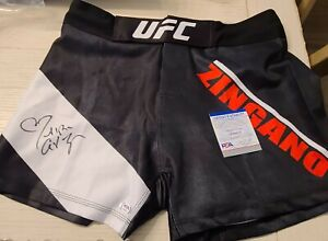 Cat Zingano Hand Signed Autographed MMA UFC SHORTS PSA Authentication