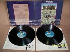 THE WHO Hooligans 1981 MCA GF DBL LP MCA 2-12001 EXC-/EXC w/lyric sleeves