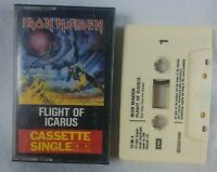 "1983 Iron Maiden ""Flight of Icarus"" Audio  Cassette Single UK Import See Pics!"