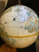 "Replogle 9"" ""World Classic Series"" Globe Made in the USA of Genuine Hard Wood"