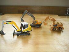 Job lot model diggers x 3