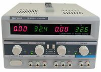 Tekpower TP3005D-3 Digital Variable Triple Outputs DC Power Supply 30V 5A