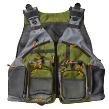 Fly Fishing Backpack Chest Bag Vest Back Pack Fishing Outdoor/ Adjustable Size