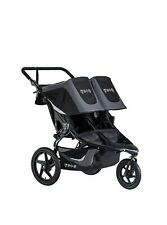 Bob Gear Revolution Flex 3.0 Duallie Double Jogging Stroller Lunar Black