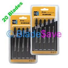 20 Bosch Jigsaw Blades Curved Cut T101AO T-Shank DeWalt Festool Makita by KROP