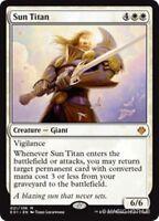 SUN TITAN Archenemy: Nicol Bolas MTG White Creature — Giant Mythic