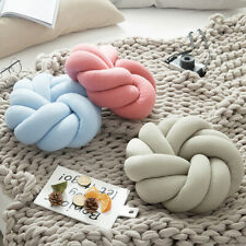 Knot Chunky Pillow Office Throw Waist Home Bedding Bay Windows Chairs Cushion