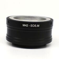 M42 Screw Mount lens to Canon EOS M EOSM mount Mirrorless Camera Adapter FE-M