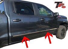2019 - 2020 Chevrolet Silverado Crew Cab Body Side Molding 4pcs