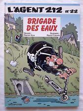 L'Agent 212 - T22 - Brigade des Eaux - Cauvin / Kox - EO