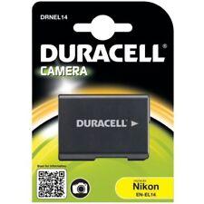 Batteries Duracell pour appareil photo et caméscope Nikon sans chargeur