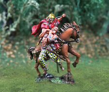 COLLECTORS SHOWCASE CS00737 Roman Mounted Cavalry Diorama with barbarian