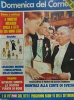 DOMENICA DEL CORRIERE N.51 1975 NOBEL A MONTALE