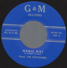 The Keystoners Magic Kiss / Write About The Blues 45 NM Doo-Wop R&B G&M (repro)
