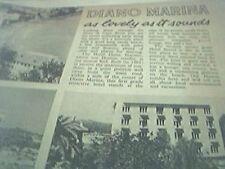 ephemera 1962 advert diano marina as love ly as it sounds