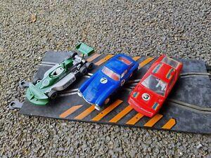 scalextric Vintage Slot Cars Joblot  c28 c69 c129 ferrari Renault ford