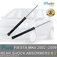 FORD FIESTA MK6 REAR SHOCK ABSORBERS 02-09 SHOCKS SHOCKERS ABSORBER X2 Inc TDi