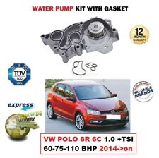 NEW WATER PUMP for VW POLO 6R 6C 1.0 +TSi 60-75-110 BHP 2014->on 999cc HATCHBACK