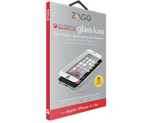 Zagg iPhone 6S 6 Invisible Shield HD Glass Luxe Tempered Glass Screen Protector