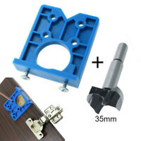 35mm Hinge Drilling Jig Concealed Guide Hinge Hole Drilling Guide Locator Wood