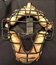 Vtg 40s Professional Spitter Model Baseball Catchers Face Mask Rawlings Ken-Wel?