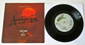 "The Doors - The End UK 1979 Elektra 7"" Single Apocalypse Now"