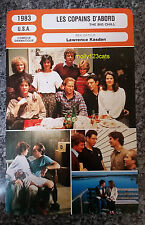 US Comedy Drama The Big Chill Tom Berenger Glenn Close French Film Trade Card