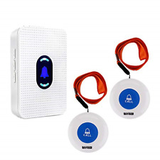 Wireless Caregiver Pager Alert System SOS Call Button for Patient Elderly Home 1