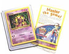 SEALED Pokemon MEWTWO Card BLACK STAR PROMO #14 Strikes Back VHS/DVD Release NM