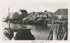 Peggy's Cove N.S. Canada * RPPC 1955 *