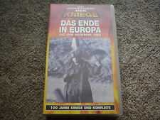 "VHS - ""Das Ende in Europa 1945"", TIME LIFE, 2.Weltkrieg"
