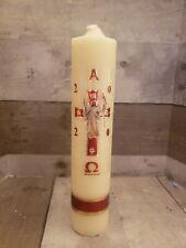"""Cirio Pascual de 1/2 Kilo {Paschal Candle} 10""""x 2""""width"""