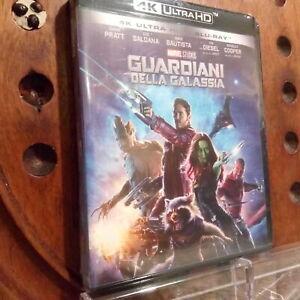 GUARDIANI DELLA GALASSIA 1   4K Blu Ray Nuovo